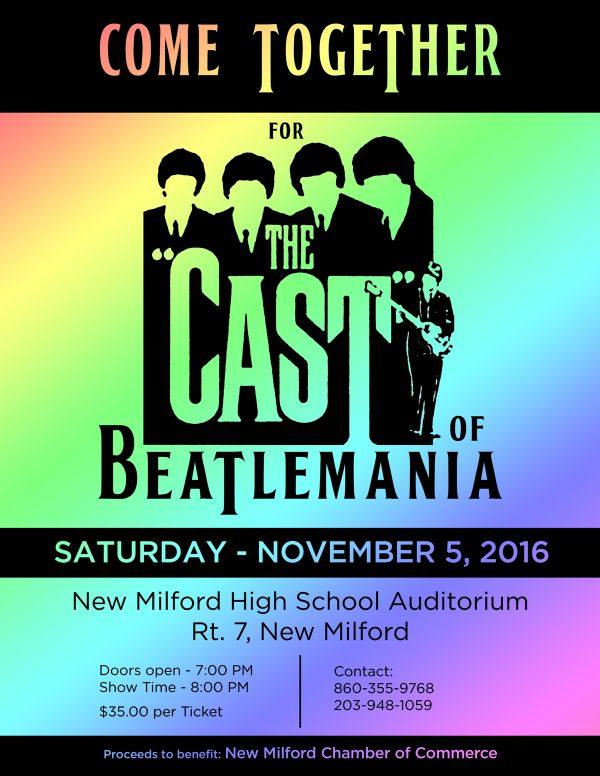 Beatlemania 2016 flyer