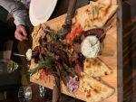 Mediterranean Grill (lamb chops, pork skewers, gyro carvings and traditional Greek sausage)